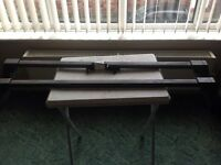 vauxhall astra/ Corsa roof bars with key
