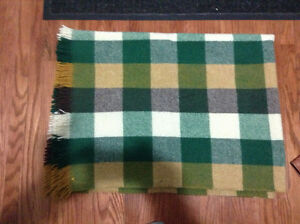 Vintage pure wool lap blanket for sale