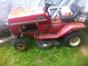 older MTD lawn tractor for sale for parts