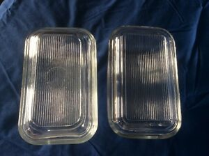 Refrigerator dishes with covers - REDUCED from $7-$4