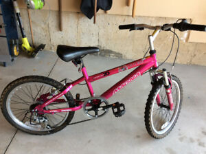Girl's Pink 20'' Mountain Bike