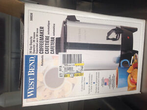 West end 30 cup coffee maker