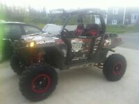 2012 RZR XP 900  w/ lots of upgrades