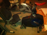 Treadmill, Rowing-machine, and other exercise machine