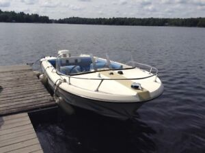 Boat and Motor and Trailer for sale
