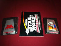2 Atari Game of Star Wars The Arcade Game & Empire Strikes Back