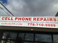 Water damage cell phone repair specialist langley surrey mission