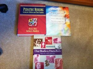 Various Nursing textbooks