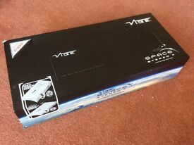 VIBE SPACE STEREO 4 IN CAR AUDIO AMPLIFIER *WHITE EDITION*