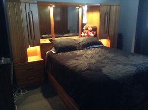 Bedroom Suite for sale Mattresses not included
