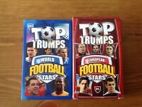 Top trumps x 2 football cards