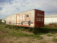 44' Storage trailer for sale
