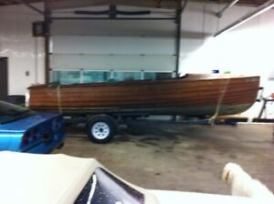 BLAST FROM PAST!! - 1954 DUKE 20' Launch Ready to Restore