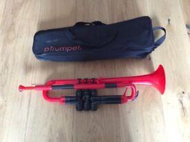 Plastic Trumpet - pTrumpet Red