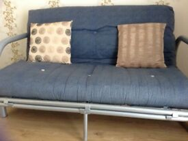 Double sofa bed.