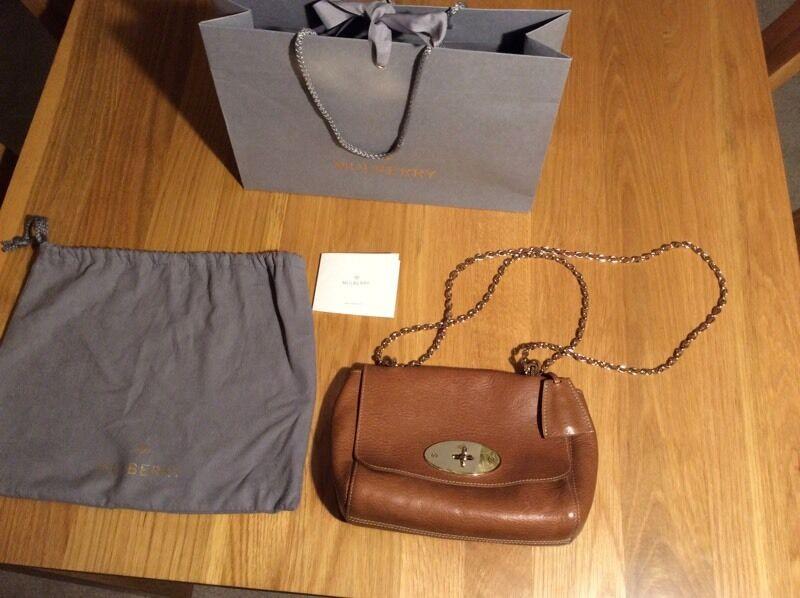 Genuine Mulberry lily handbag