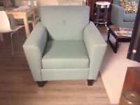 Mid century style chair and love seat