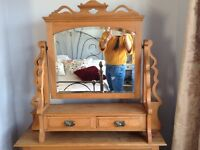 Stunning dressing table mirror