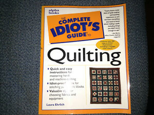 Complete Idiots Guide to Quilting for sale