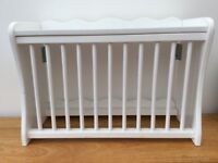 White wall hanging plate rack - holds up to 12 plates