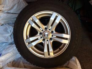 Jantes et pneus d'hiver Mazda3