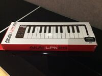 AKAI LPK25 Laptop Performance Keyboard / Midi Controller