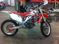 2009 CRF450R BUILT BY REKLUSE AS THERE RACE BIKE !!!!!!!!!!