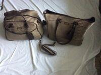 Chaps Ralph Lauren, weekend luggage set