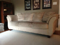 Microsuede couch - free