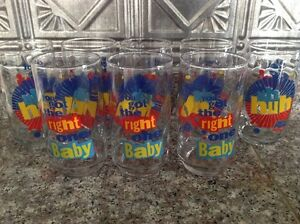 "Pepsi ""You Got The Right One Baby"" Glass Set"