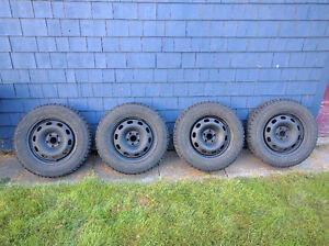 Goodyear Nordic Snow tires and rims