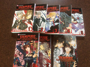 Vampire Knight book set