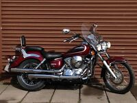 Yamaha XVS Dragstar 250. Only 10602 miles. Delivery Available *Credit & Debit Cards Accepted*