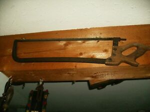 antique meat saw