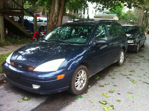2002 Ford Focus Wagon - AS IS