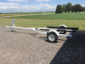 BOAT TRAILER - MINT CONDITION - TRADE FOR A CANOE