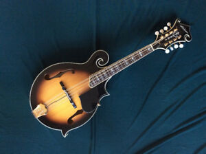 Alabama F-Style Mandolin with bridge pickup.