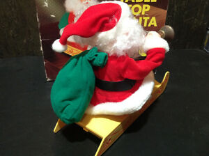 Vintage Santa's Best CLIFFHANGER SANTA CLAUS - NEW IN BOX Cambridge Kitchener Area image 2