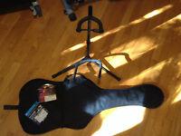 Support a guitare,etui
