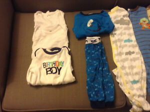 Box of boy's 12 months fall/winter clothes Kitchener / Waterloo Kitchener Area image 2