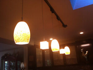 5 PENDANT TRACK LIGHTING