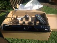 Freeview you view box with remote