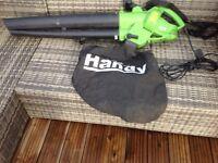 Garden leaf blower / vac