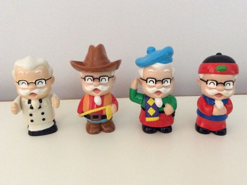 KFC Colonel Sanders figurines