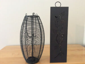Wedding OutdoorDecor 2 Hanging Candle Holders $10 ea $18 both
