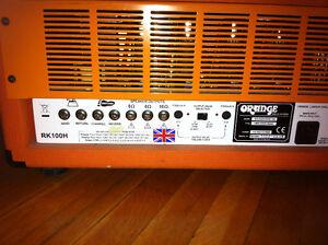 Ampli de guitare Orange Rockerverb 100 (lampes neuves) Québec City Québec image 3