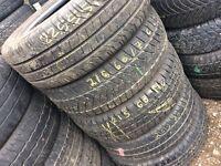 TYRE SHOP 225/55/17c 215/60/17c 205/75/15c van tyre car tires used partworn tire specialist