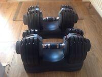 "Body max dumbbell set ""Selectabell"" 5kg-32.5kg"