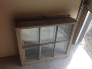 Vintage Windows, great for picture frames, art ect.