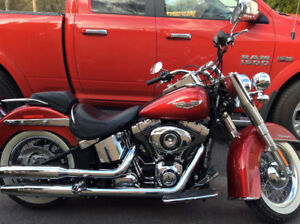 Harley Davidson 2012 Softail Deluxe seulement 6847 KM